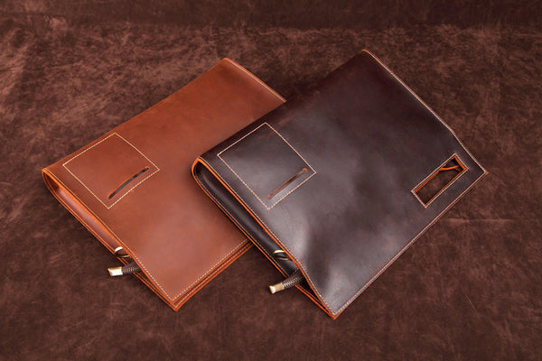 NOPSO TOTE ENVELOPE BUSINESS LEATHER BAG