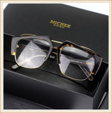 MICHE HUACHEN PLATE METAL DOUBLE BORDER SUNGLASSES