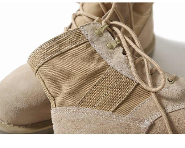 SMOW MIREL RETRO ROUND HEAD LOCOFLIA ANCIENT BOOTS IN KHAKI