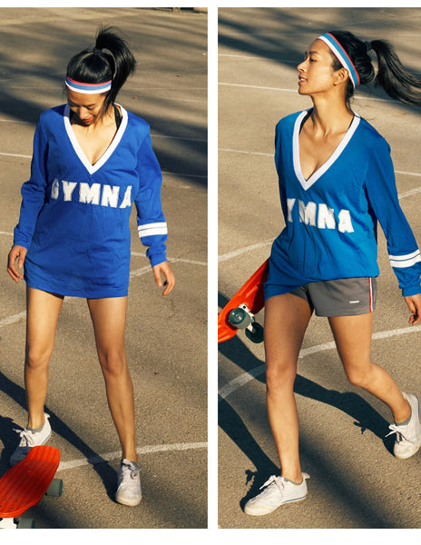 GYMNA BREATHABLE MESH RUNNING TRAINING TOP - boopdo