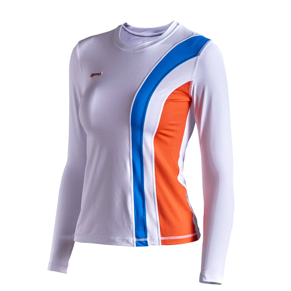 GYMNA TRAINING LONG SLEEVE T SHIRT WITH SIDE STRIPE - boopdo