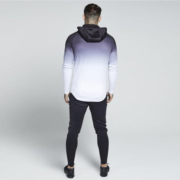 MUSCLE BROXS CARDIGAN FITNESS HOODED TRACKSUIT - boopdo