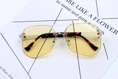 STARLIM SPECTACLE IRREGULAR FRAME SUNGLASSES