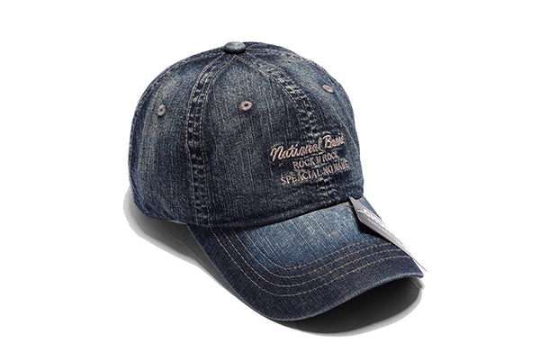 CHUNGLIM ROCK N ROCK NATIONAL BASIC CURVED DENIM JEAN CAPS