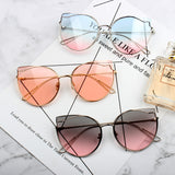 GULIZA ANGELA BABY OCEAN CAT EYE SUNGLASSES