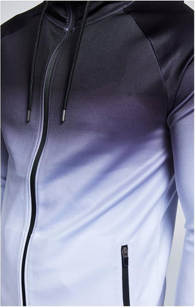 MUSCLE BROXS CARDIGAN FITNESS HOODED TRACKSUIT