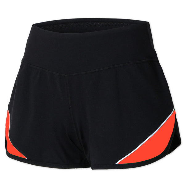 GYMNA RUNNER SHORTS WITH SIDE STRIPE