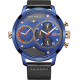 MINIFOCUS LARGE DIAL CASE FUNCTIONAL WATER PROOF WATCH - boopdo