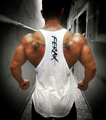 FAREX MUSCLE GYM FITNESS TANK TOP T SHIRT - boopdo