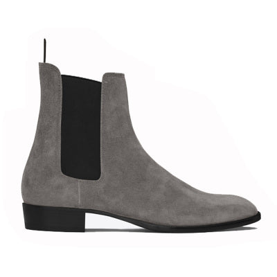 NADEMILI TOE POINTED HIPPI DESIGN CHELSEA BOOTS - boopdo