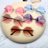 ELEGANCIA ANTI UVA ROUND SHAPE SUNGLASSES IN MULTI COLOR - boopdo