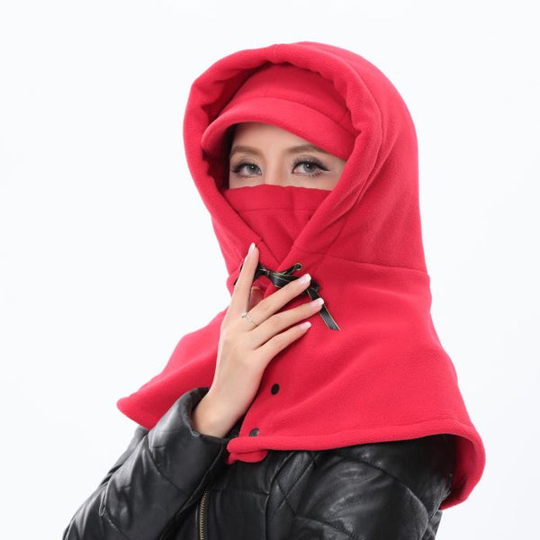MASK WINDPROOF COLD EARMUFF SHAWL HAT - boopdo