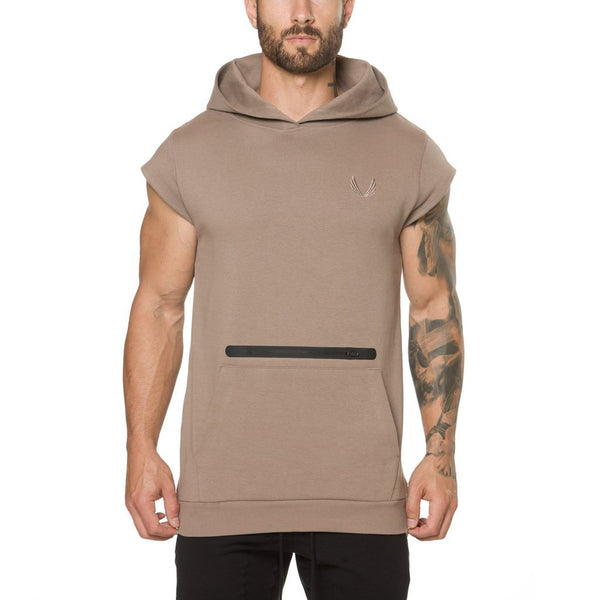 regular basic style gym outfit hoodie t shirt