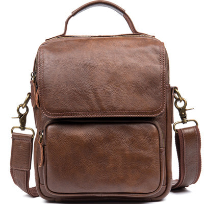 BOOPDO DESIGN MANTIME HANDMADE CASUAL LEATHER CHEST BAG