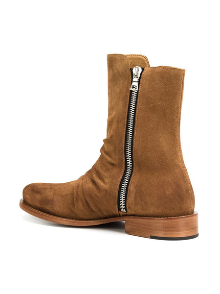 NADEMILI NORMDEZ LONDON FASHION STREET WEAR MID CHELSEA BOOTS
