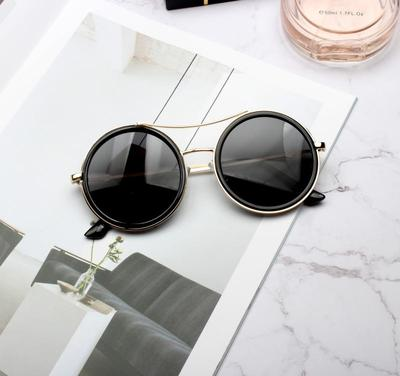 POXY OVAL SHAPED FRAME AVANT GARDE SUNGLASSES - boopdo