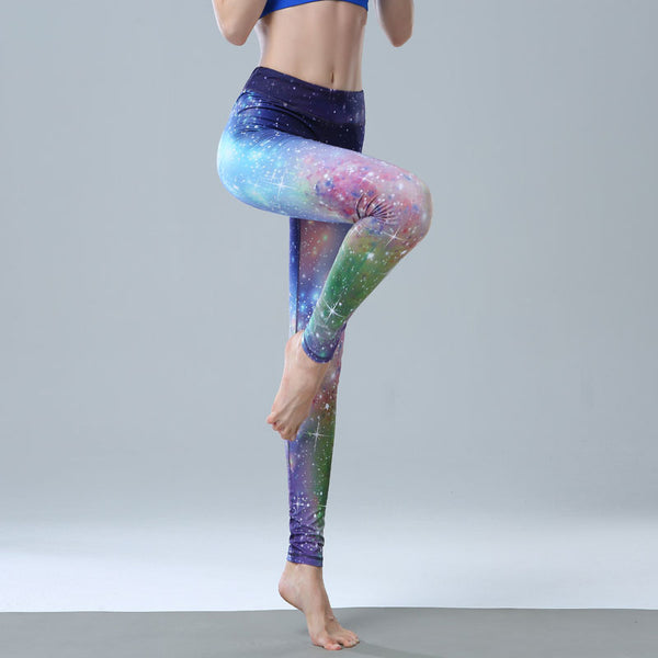 BOOPDO DESIGN DIGITAL PRINT WITH MIXED MULTI COLOR LEGGINGS - boopdo