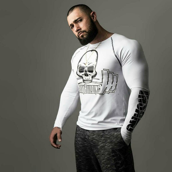 bodybuilding insano equipment fitness tight t shirt