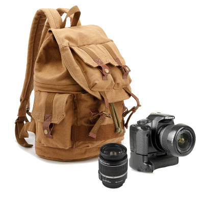 PROFESSIONAL SLR DSLR CASUAL CANVAS 15 INCHES CAMERA BAG