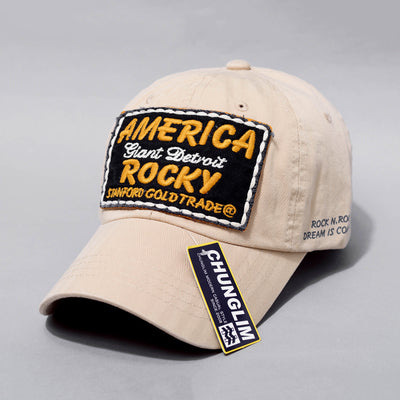 CHUNGLIM ROCKY AMERICA GIANT DETROIT CURVED CAPS - boopdo