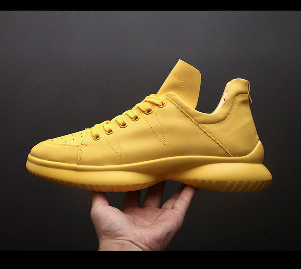 BELLESSA COMFY CUSH ERA COLOR SNEAKER IN YELLOW