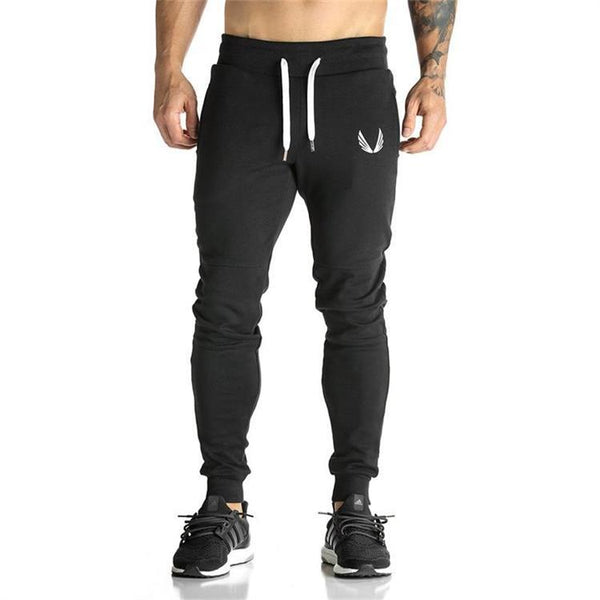 MUSCLE BROXS SLIM FITNESS GYM TRAINING TRACK PANTS
