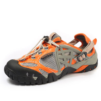 LUCKY FIVE NINE BIRDS BREATHABLE BROOK NON SLIP HIKING SHOES - boopdo