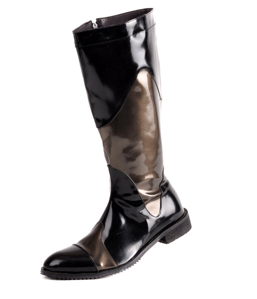 RODEO CAMPO POINTED TOE LEATHER COWBOY BOOTS