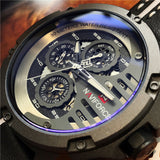 NAVYFORCE MENS SIX PIN MULTI FUNCTION WATERPROOF WATCHES - boopdo