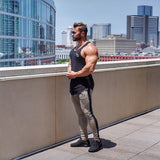 MIRA MUSCLE BROX SLIM FITNESS FUNCTION BREATHABLE PANTS - boopdo