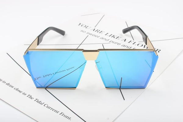 BOLIMU BIG BOX SQUARE FRAME SUNGLASSES - boopdo