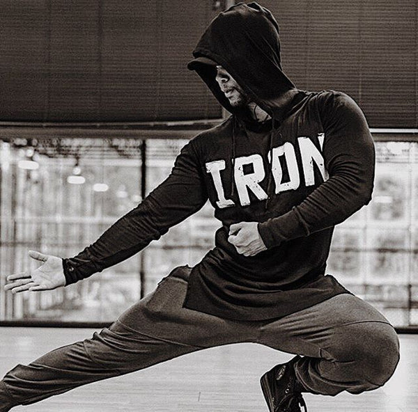 FAREX FITNESS IRON FITNESS EQUIPMENT PULLOVER HOODIE