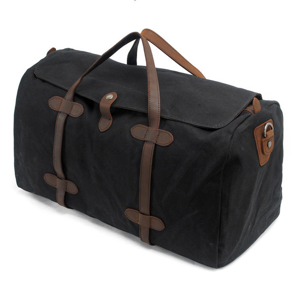 MUCHUAN CANVAS WATERPROOF LARGE CAPACITY TRAVEL BAGS