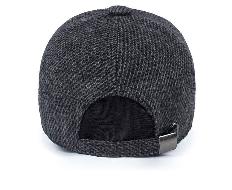 97ca341ac75 Drake Snapback Men s Knitted Baseball Cap with Ear Flaps – Knish s ...