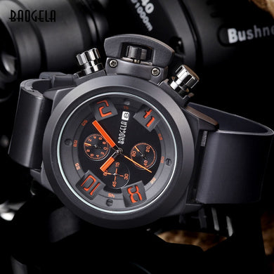 Luxury Silicone Band Waterproof Sport Watchwatch