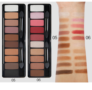 10 Color Eyeshadow  Professional Kit