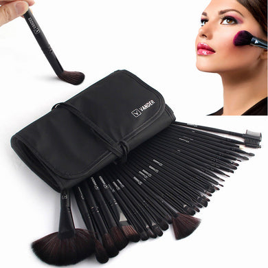 32pcs Professional Cosmetics  Tool Kit + Pouch Bag