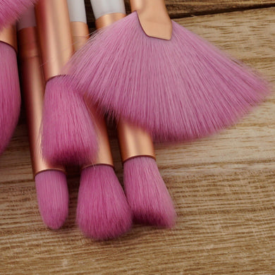 10Pcs Professional Makeup Brushes