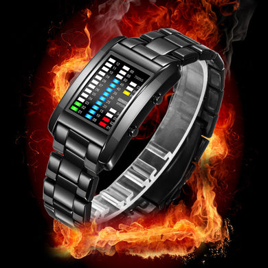 Men Luxury Watches Digital LED