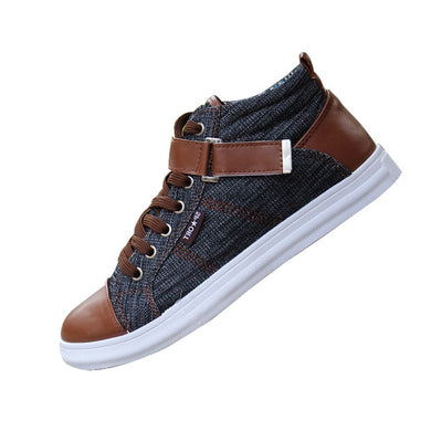 Men's Mix-Color Sneakers