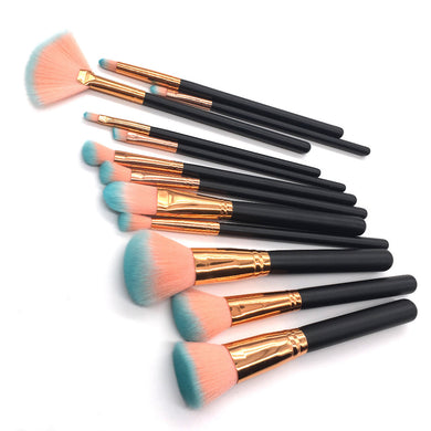 12Pcs Makeup Brushes