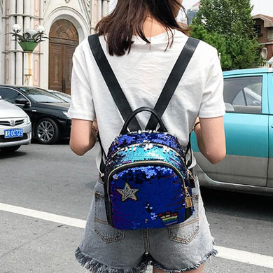 Mini Shining Sequins Backpack