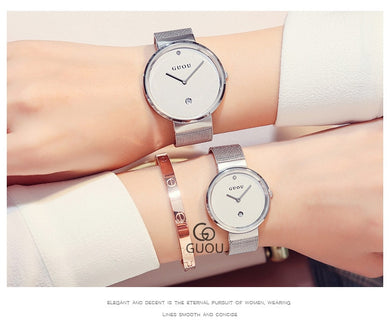 Unisex Dress Quartz Watch