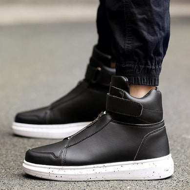 High Top  Zipper Sneakers