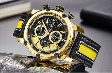 Men's Sports Chronograph Wrist Watches