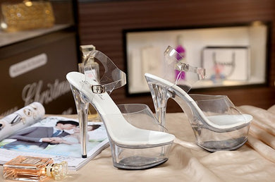 Crystal Transparent Shoes