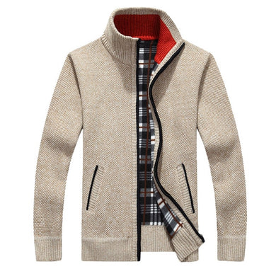Thick Cardigan Casual Knitwear