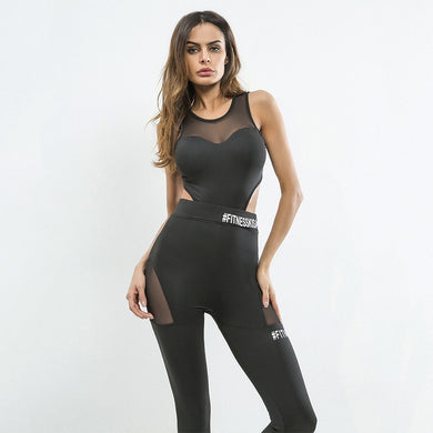 Mesh Sportswear Gym Running Clothing