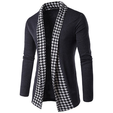 England Style Houndstooth Cardigans