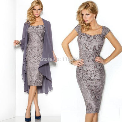 Elegant Mother Of The Bride Dresses with Jacket